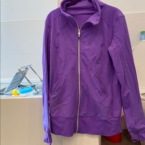 Lululemon Contempo Jacket Power Purple